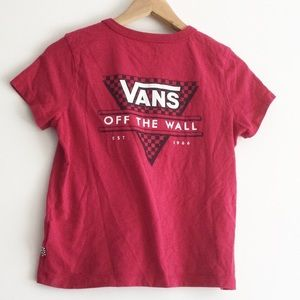 Vans Off the Wall T-shirt Small